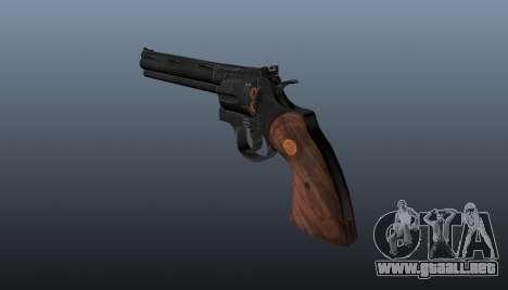 Revólver Colt Python 357 para GTA 4 segundos de pantalla
