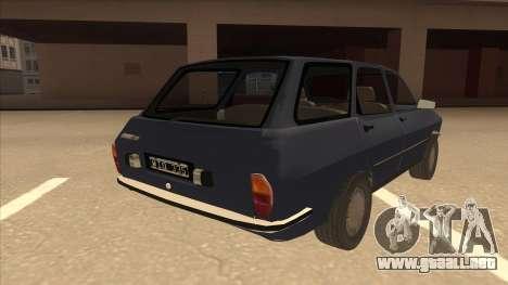 Renault 12 Break para la visión correcta GTA San Andreas