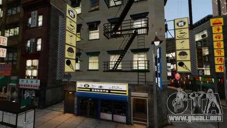 Tiendas de Chinatown para GTA 4 quinta pantalla
