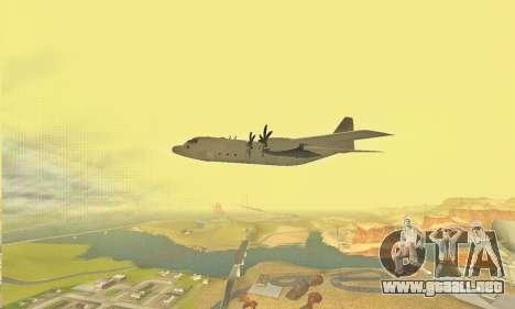 Hercules GTA V para vista lateral GTA San Andreas