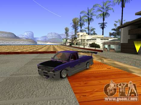 Vaz 2102 divertido flotar para GTA San Andreas left