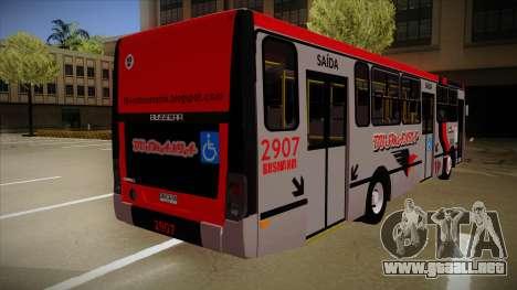 Busscar Urbanuss Ecoss MB OF 1722 M Busmania para la visión correcta GTA San Andreas