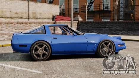 Chevrolet Corvette C4 1996 v2 para GTA 4 left