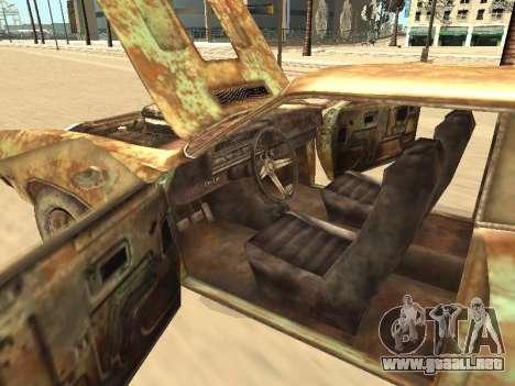 Ford Torino Rusty para vista inferior GTA San Andreas