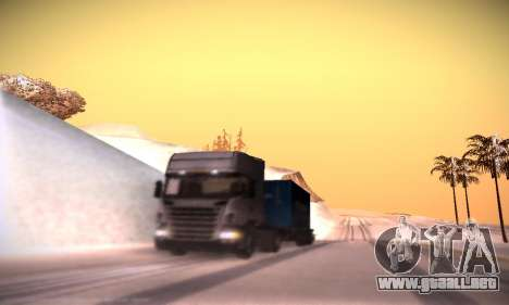 Scania R500 Topline para vista inferior GTA San Andreas