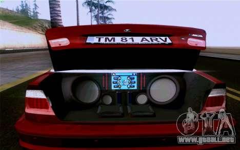 BMW M3 Cabrio para el motor de GTA San Andreas