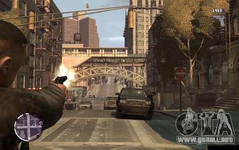 Pistola Makarov para GTA 4 tercera pantalla
