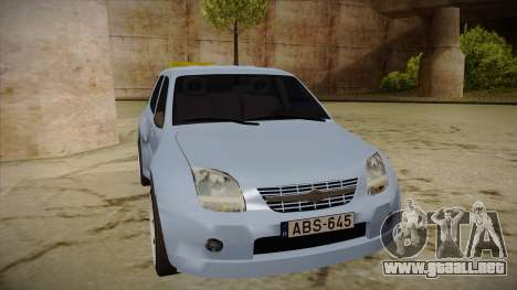 Suzuki Ignis para GTA San Andreas left