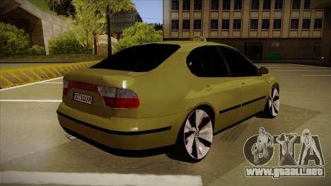 Seat Toledo German Style para la visión correcta GTA San Andreas