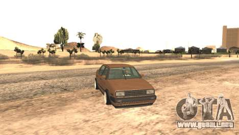 Volkswagen Jetta MK2 para la visión correcta GTA San Andreas