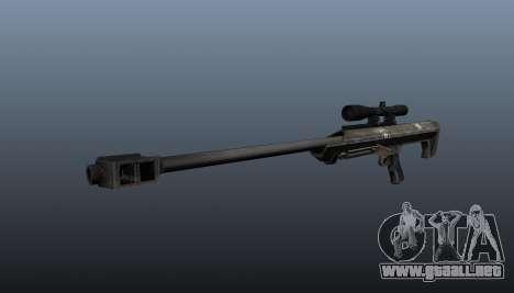 Rifle de francotirador Barrett M99 para GTA 4