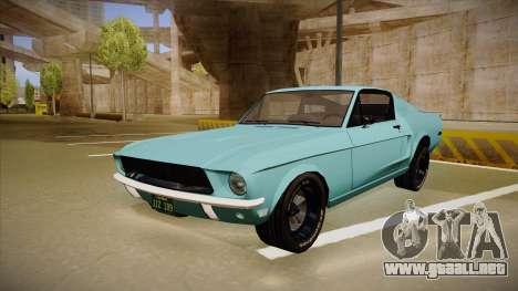 Ford Mustang para GTA San Andreas