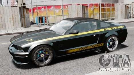 Shelby Terlingua Mustang para GTA 4 left