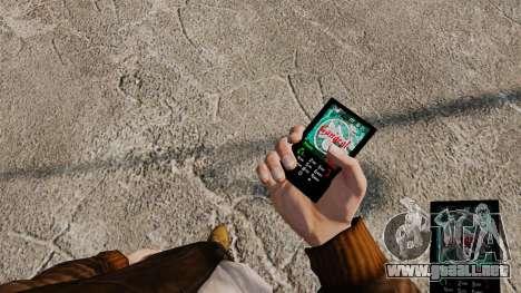 Temas para teléfono Vampire The Masquerade para GTA 4 quinta pantalla