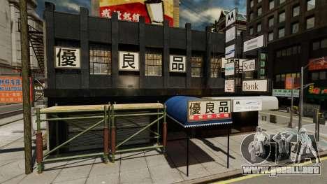 Tiendas de Chinatown para GTA 4 segundos de pantalla