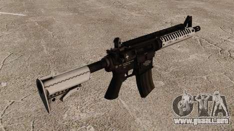 Automático carabina M4 VLTOR v5 para GTA 4 segundos de pantalla