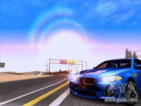 BMW M5 F10 2012 Autovista para la visión correcta GTA San Andreas