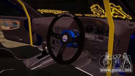 NISSAN 180SX NAKAGAWA para visión interna GTA San Andreas