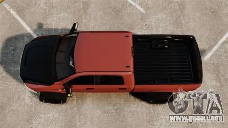 Dodge Ram 2500 Lifted Edition 2011 para GTA 4 visión correcta