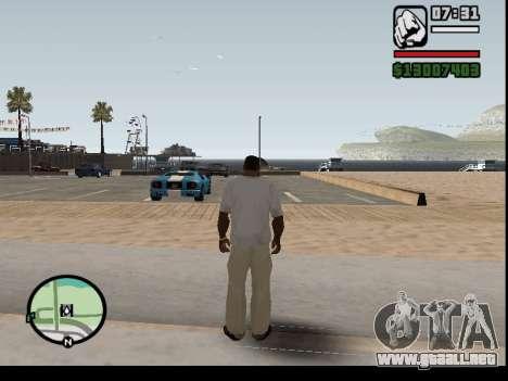 El secuestro de autos para GTA San Andreas