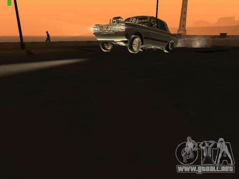Gas arrastre edición 24 para GTA San Andreas vista hacia atrás
