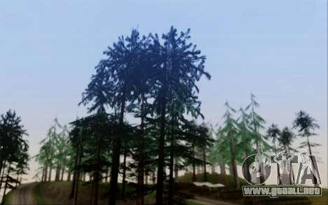 Nueva vegetación 2013 para GTA San Andreas segunda pantalla