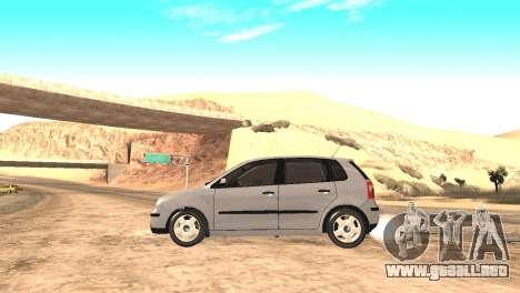 Volkswagen Polo 2.0 2005 para GTA San Andreas vista posterior izquierda