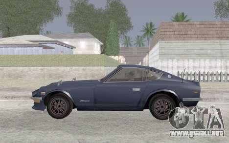 Nissan Fairlady Z AKUMA para GTA San Andreas left