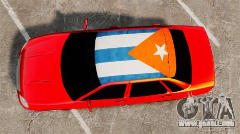 Lada Priora Cuba para GTA 4 visión correcta