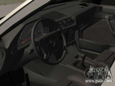 BMW 525I para GTA San Andreas vista hacia atrás