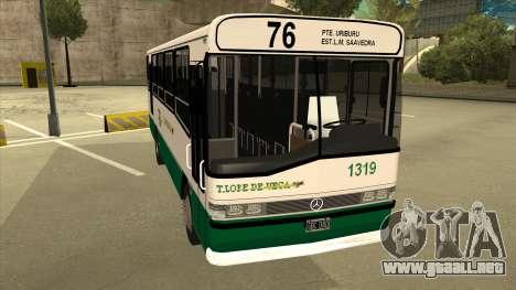 Mercedes-Benz OHL-1320 Linea 76 para GTA San Andreas left