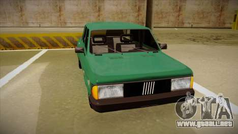 Fiat 128 Super Europa para GTA San Andreas left