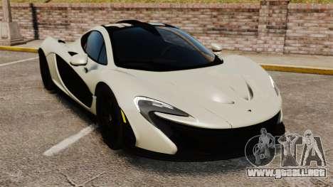 McLaren P1 [EPM] para GTA 4