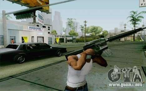 Robo sistema v2.0 para GTA San Andreas segunda pantalla