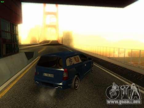 Opel Astra G Caravan Tuning para GTA San Andreas left