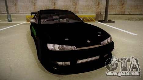 Nissan s14 200sx [WAD]HD para GTA San Andreas left