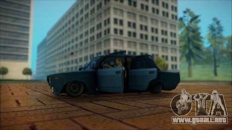 VAZ 2105 para la visión correcta GTA San Andreas