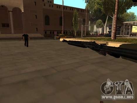 WeaponStyles para GTA San Andreas sexta pantalla