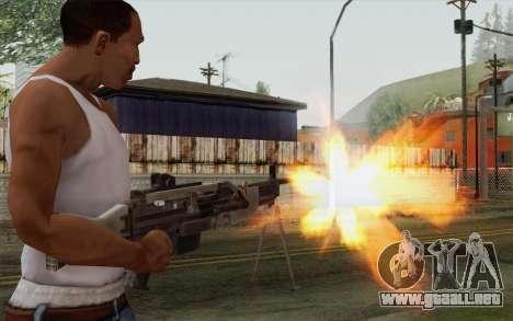 Arma militar para GTA San Andreas tercera pantalla