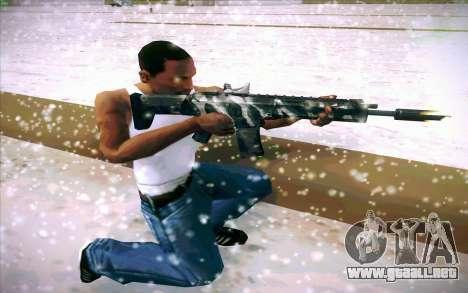 ACR para GTA San Andreas sexta pantalla