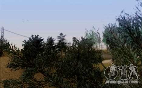 Nueva vegetación 2013 para GTA San Andreas octavo de pantalla