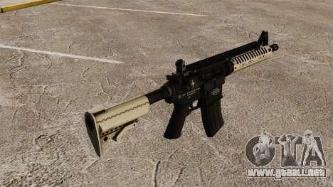 Automático carabina M4 VLTOR v3 para GTA 4 segundos de pantalla