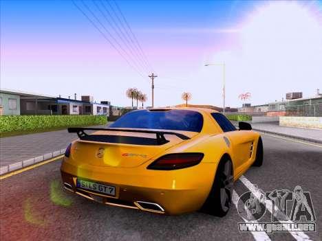 Mercedes-Benz SLS AMG GT 2014 Final Edition para la visión correcta GTA San Andreas
