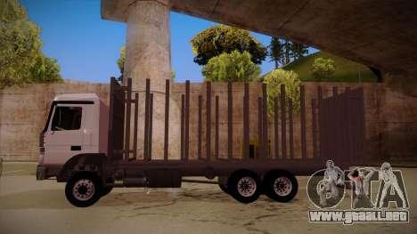 MB 2644 trem frente para la visión correcta GTA San Andreas