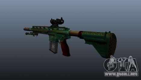 HK417 rifle v3 para GTA 4 segundos de pantalla