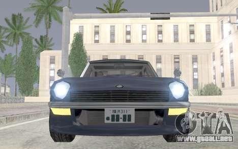 Nissan Fairlady Z AKUMA para la visión correcta GTA San Andreas