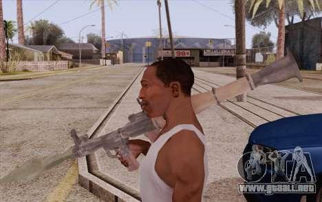RPG para GTA San Andreas segunda pantalla