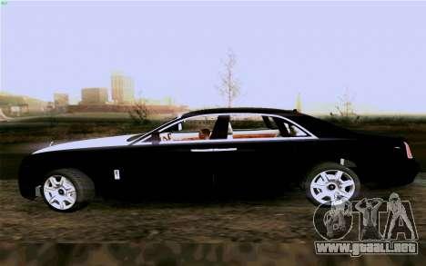 Rolls-Royce Ghost para la visión correcta GTA San Andreas