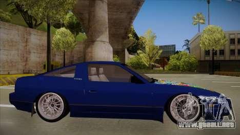 Nissan 240sx JDM style para GTA San Andreas vista posterior izquierda