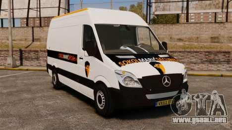 Mercedes-Benz Sprinter Sokol Maric Security para GTA 4